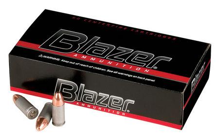 CCI 9mm 115 gr FMJ Blazer Aluminum 50/Box