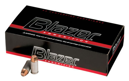 CCI AMMUNITION 40SW 165 gr FMJ Blazer Aluminum 50/Box