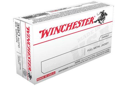 WINCHESTER AMMO 380 Auto 95 gr FMJ 50/Box