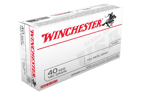 Winchester 40SW 180 gr FMJ 50/Box