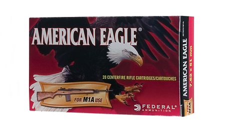 FEDERAL AMMUNITION 7.62x51MM (308 WIN) 168 GR OTM FOR M1A 20/BOX