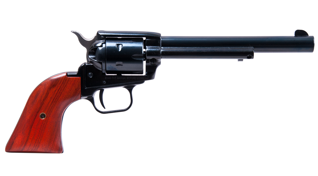 No. 9 Best Selling: HERITAGE ROUGH RIDER 22LR 6 INCH REVOLVER