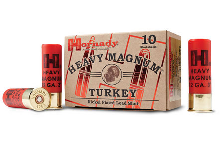 HORNADY 12 GA #5 NICKEL HEAVY MAGNUM TURKEY 10/BOX