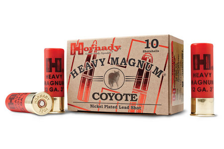 Hornady 12 Gauge Nickel 3 Inch Heavy Magnum Coyote 10/Box