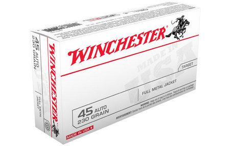 Winchester 45 Auto 230 gr FMJ 50/Box