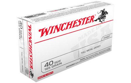 WINCHESTER AMMO 40SW 165 gr FMJ 50/Box