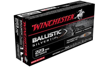 WINCHESTER AMMO 223 REM 50 GR BALLISTIC SILVERTIP 20/BOX