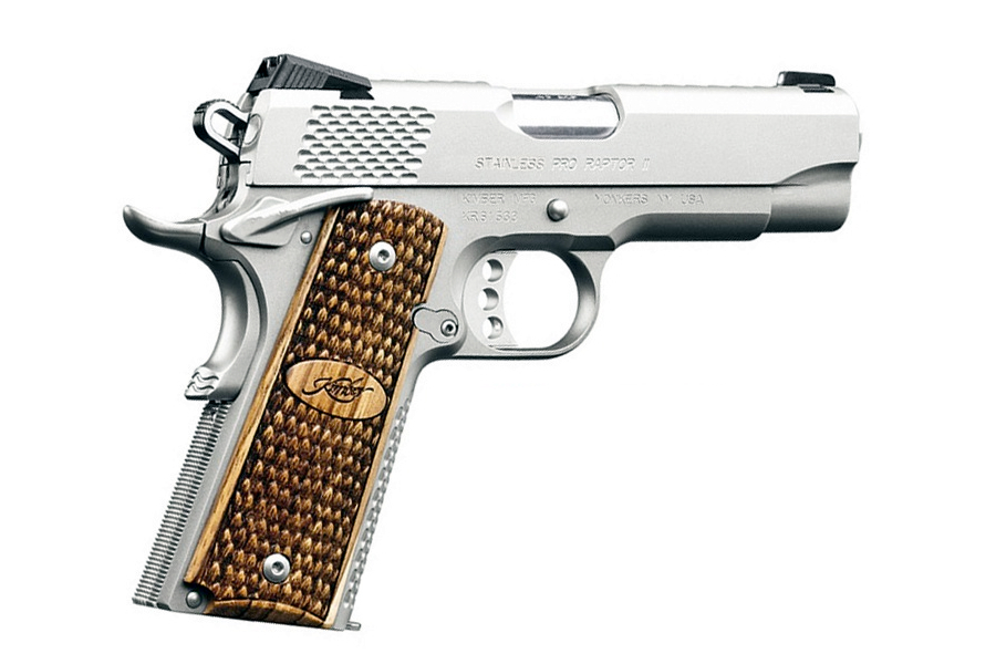 STAINLESS PRO RAPTOR II 45ACP
