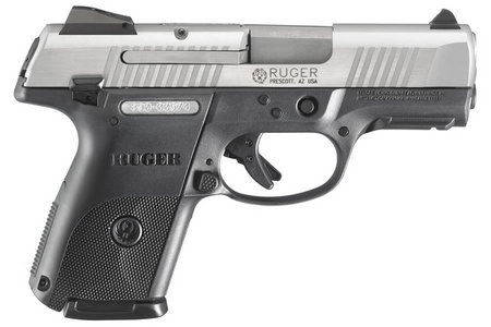 RUGER SR40C COMPACT 40SW STAINLESS PISTOL