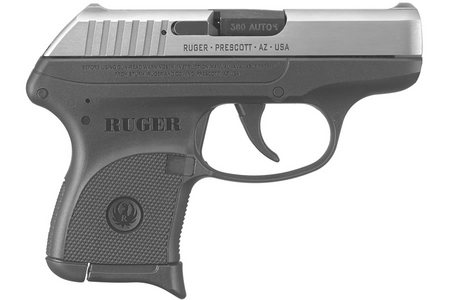 RUGER LCP 380ACP CENTERFIRE STAINLESS PISTOL