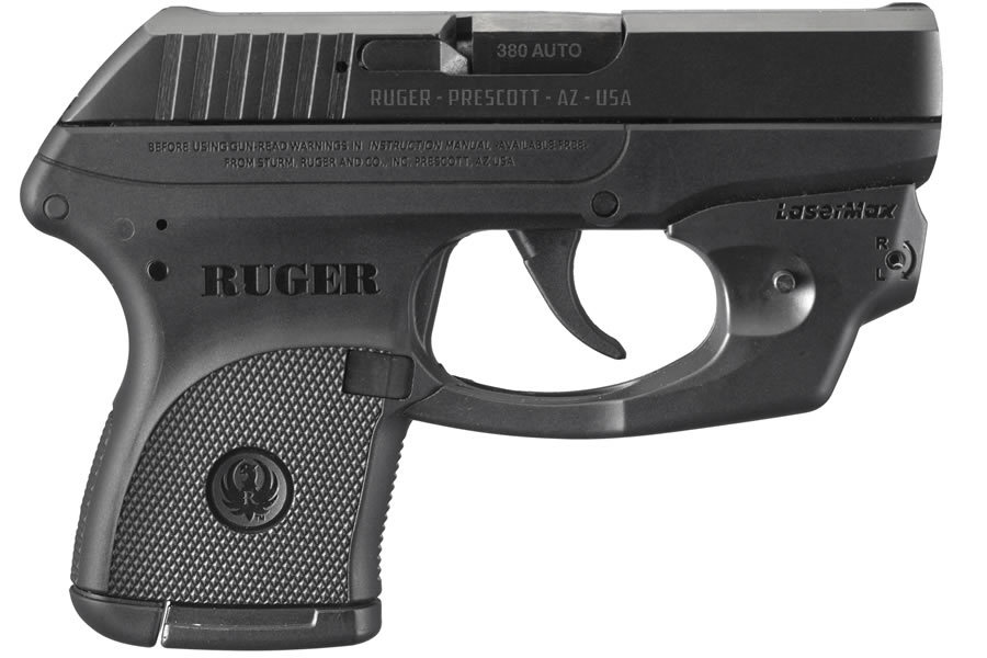 RUGER LCP 380ACP LASERMAX CENTERFIRE PISTOL