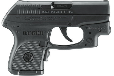 RUGER LCP 380ACP WITH CRIMSON TRACE LASER
