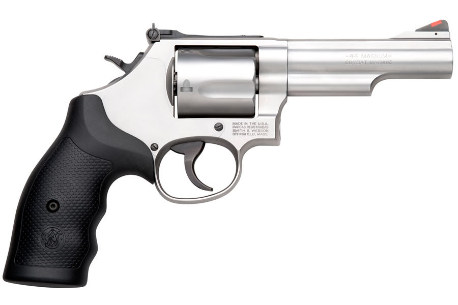 Smith wesson model 69 combat 44 magnum stainless for Wrap master model 1500