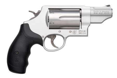 SMITH AND WESSON GOVERNOR .410/45 STAINLESS REVOLVER