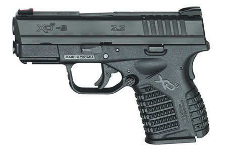 SPRINGFIELD XDS SINGLE STACK 9MM BLACK