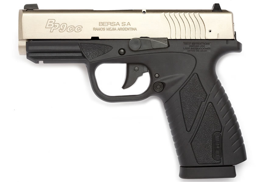 DUO-TONE 9MM CONCEALED CARRY PISTOL
