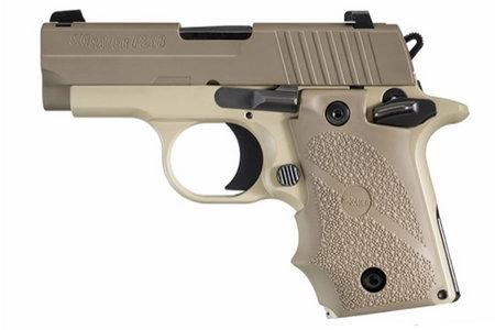 SIG SAUER P238 Desert Micro-Compact Semi-Automatic .380 ACP 2.7 inch Barrel 7+1 Rounds