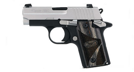 SIG SAUER P238 380ACP BLACKWOOD WITH NIGHT SIGHTS