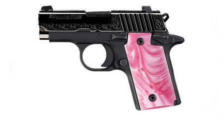 SIG SAUER P238 PINK PEARL 380ACP WITH NIGHT SIGHTS