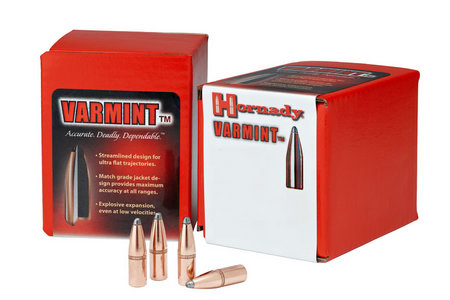 HORNADY 22 CAL .224 55 GR SP W/ CANNELURE 100/BOX