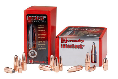 HORNADY 7MM .284 139 GR INTERLOCK BTSP 100/BOX