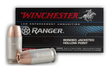 WINCHESTER AMMO 45 ACP 230GR. JHP BONDED RANGER
