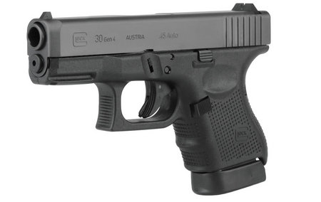 GLOCK 30 45 AUTO 10RD FIXED SIGHTS (GEN4)