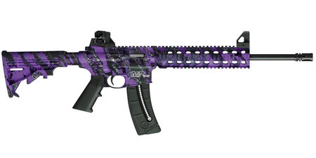 SMITH AND WESSON MP15-22 22LR PURPLE PLATINUM RIMFIRE