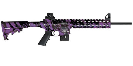SMITH AND WESSON MP15-22 22LR PURPLE PLATINUM (COMPLIANT)