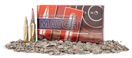 HORNADY 223 Rem 75 gr BTHP Superformance Match 20/Box