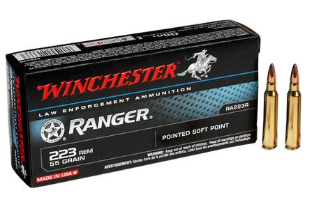 WINCHESTER AMMO 223 Rem 55 gr Soft Point Ranger 20/Box
