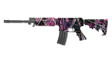 WINDHAM WEAPONRY WW-15 SRC MUDDY GIRL CAMO 5.56
