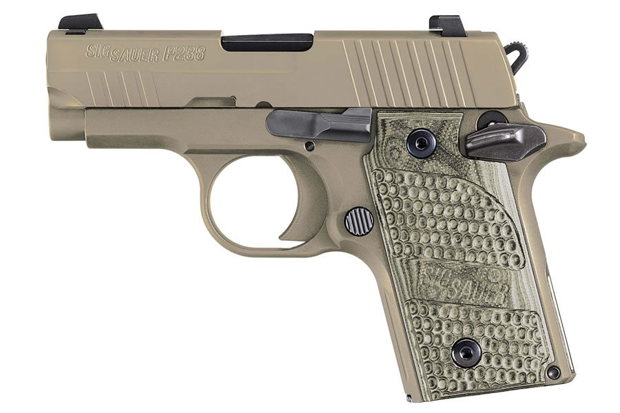 P238 SCORPION 380ACP WITH NIGHT SIGHTS