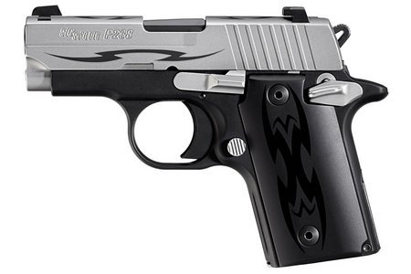 SIG SAUER P238 380ACP TWO-TONE TRIBAL PISTOL