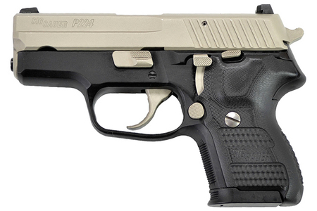 SIG SAUER P224 9MM 2-TONE WITH NICKEL ACCENTS
