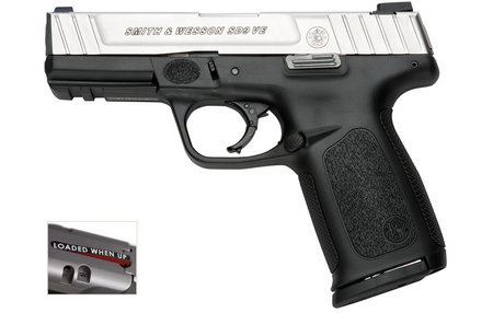 SMITH AND WESSON SD9 VE 9MM STAINLESS (CA COMPLIANT)