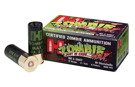 HORNADY 12 Ga 00 Buckshot Z-Max 2-3/4 10/Box
