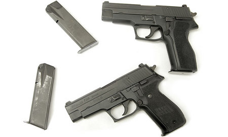 SIG SAUER P226 40SW POLICE TRADE-INS WITH TWO MAGS