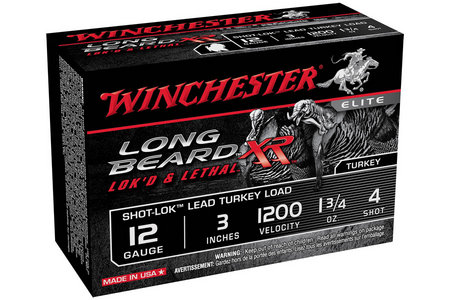 12 GA 3 IN 1-3/4 OZ #4 SHOT-LOK