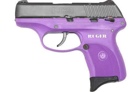 RUGER LC9 9MM PURPLE PISTOL LADY LILAC