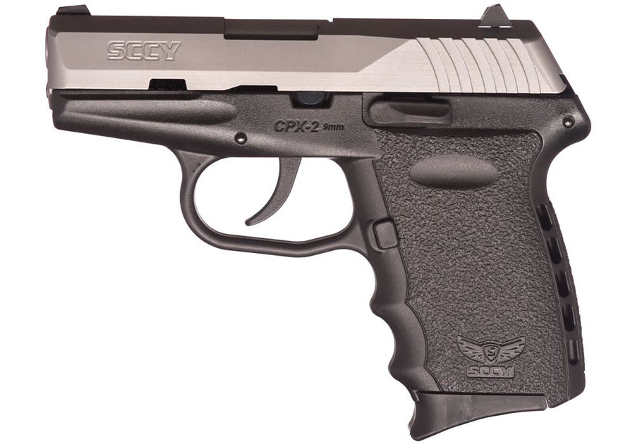 No. 16 Best Selling: SCCY CPX-2 TT 9MM STAINLESS STEEL