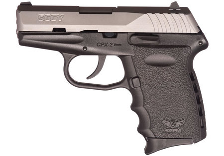SCCY CPX-2 TT 9MM STAINLESS STEEL