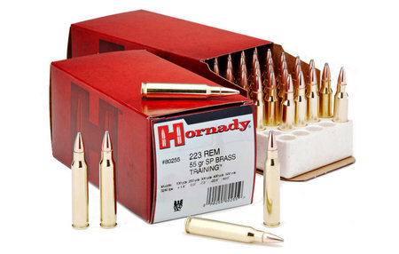 HORNADY 223 Rem 55 gr Soft Point Brass Training 50/Box
