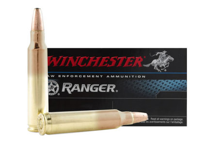 WINCHESTER AMMO 5.56MM 64 GR RANGER BONDED SOLID BASE 20/BOX
