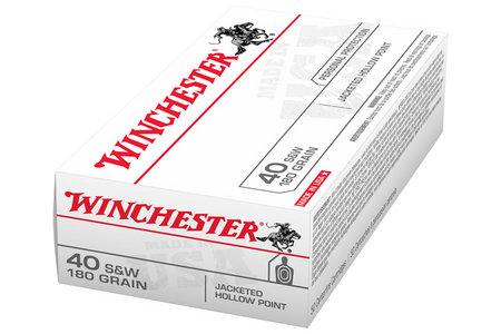 WINCHESTER AMMO 40SW 180 gr JHP USA 50/Box