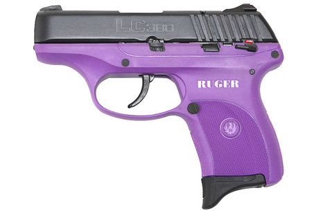 RUGER LC380 380ACP PURPLE PISTOL LADY LILAC