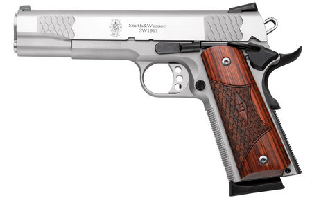 SMITH AND WESSON SW1911ES  E-SERIES 45ACP STAINLESS (LE)