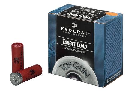 FEDERAL AMMUNITION 12 GA TOP GUN TARGET 2 3/4 SIZE 8 25/BOX