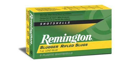 REMINGTON AMMO 20 GA 2 3/4 SLUGGER RIFLED SLUGS 5/BOX