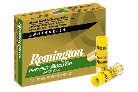 REMINGTON 20 Gauge 260 gr AccuTip 2 3/4 Bonded Sabot Slugs 5/Box